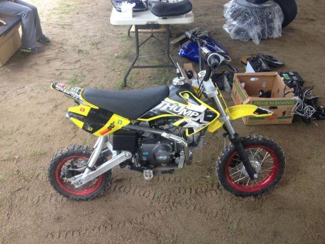 2008 Pit Bike / Dirt Bike / Mini Bike - 120cc 4 Stroke Motor