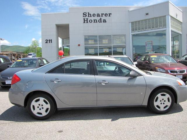 2008 Pontiac G6 For Sale In Rutland Vermont Classified
