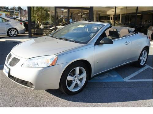 2008 pontiac g6 convertible gt for sale in owings mills maryland classified. Black Bedroom Furniture Sets. Home Design Ideas