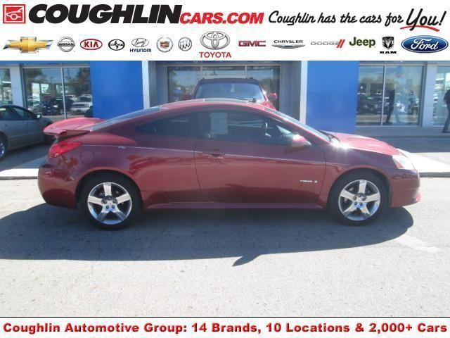 2008 pontiac g6 coupe 2dr cpe gxp for sale in marysville. Black Bedroom Furniture Sets. Home Design Ideas