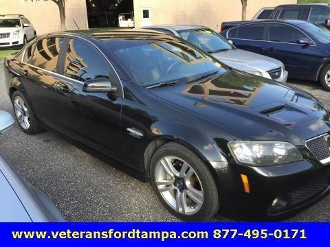 2008 pontiac g8 4 door sedan for sale in tampa florida. Black Bedroom Furniture Sets. Home Design Ideas