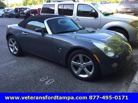 2008 pontiac solstice 2 door convertible for sale in tampa. Black Bedroom Furniture Sets. Home Design Ideas