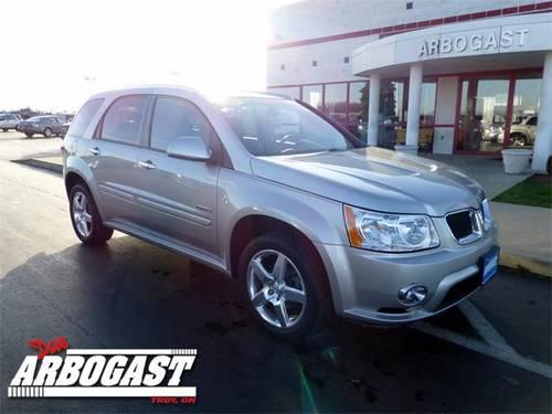 2008 Pontiac Torrent Suv Gxp For Sale In Troy Ohio
