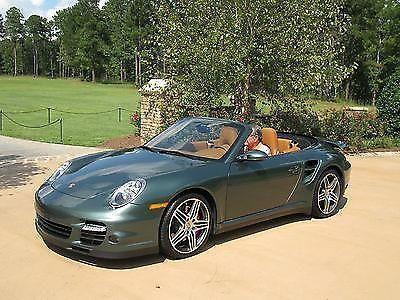 2008 Porsche 911 Turbo Cabriolet Rare Malachite Green 1 Of 3 For