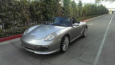 2008 PORSCHE BOXTER RS60 SPYDER NAVIGATION BOSE 6 SPEED