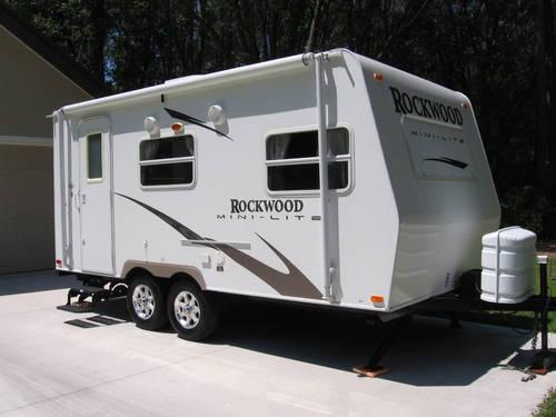 2008 Rockwood Mini Lite 18 Ft Travel Trailer For Sale In Alachua Florida Classified