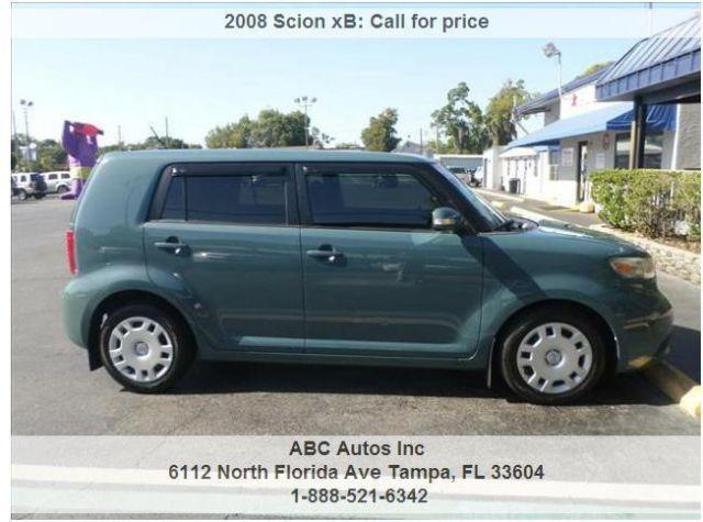 2008 scion xb buy here pay here for sale in tampa florida classified. Black Bedroom Furniture Sets. Home Design Ideas