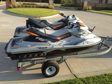 2008 Sea Doo Rxp and Rxt 255hp