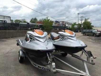 2008 Seadoo RXPX Dual Jet Skis + Trailer