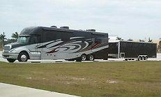 2008 Silver Crown 45' RV, Motorhome, Coach - Garage