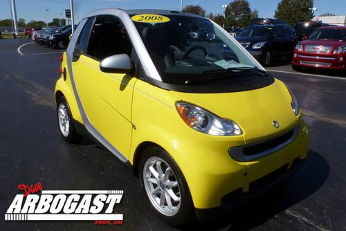 2008 smart fortwo convertible passion cabriolet for sale in troy ohio classified. Black Bedroom Furniture Sets. Home Design Ideas