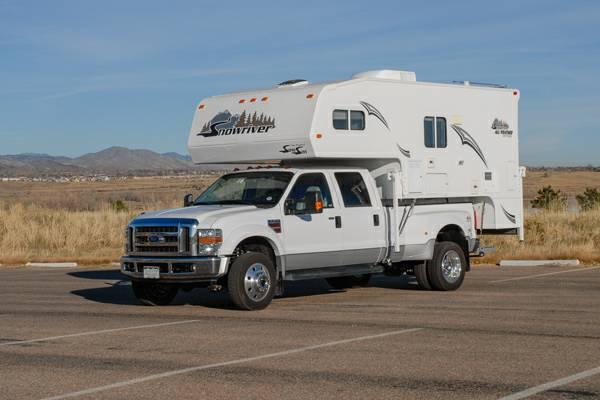 2008 Snowriver 10 8 Quot Truck Camper For Sale In Henderson