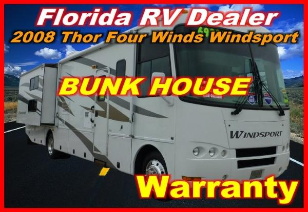 2008 thor motor coach four winds wind sport 34 b for sale in port charlotte florida classified. Black Bedroom Furniture Sets. Home Design Ideas