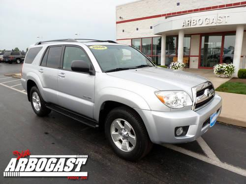 2008 toyota 4runner suv sr5 for sale in troy ohio classified. Black Bedroom Furniture Sets. Home Design Ideas