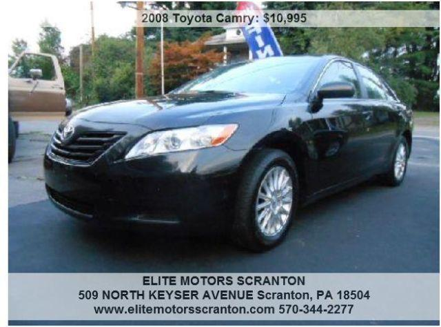 2008 Toyota Camry - One Owner, Great on Gas & Financing