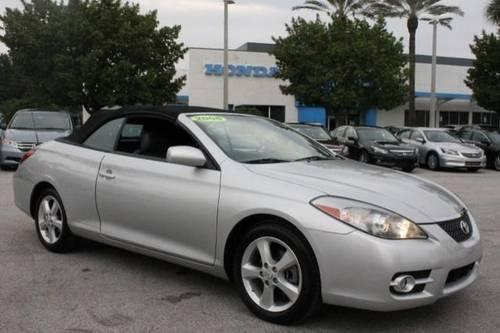 2008 toyota camry solara convertible sle for sale in pinellas park florida classified. Black Bedroom Furniture Sets. Home Design Ideas