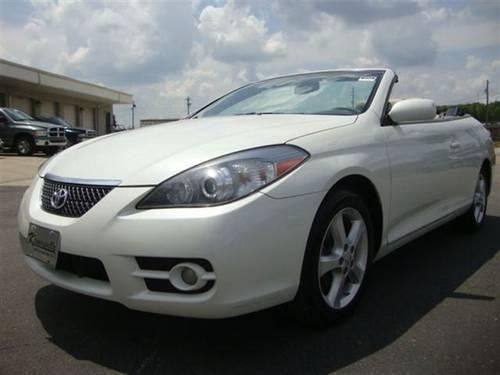 2008 toyota camry solara convertible sle convertible for sale in guthrie north carolina. Black Bedroom Furniture Sets. Home Design Ideas