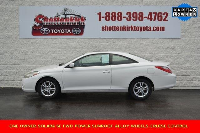 2008 Toyota Camry Solara SE SE 2dr Coupe 5A