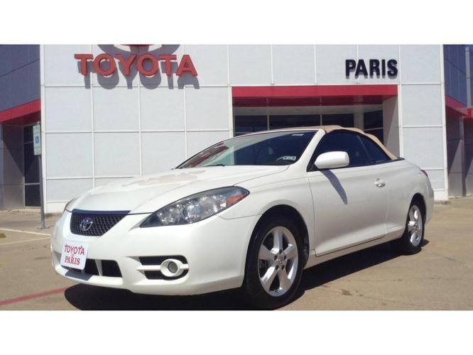 2008 toyota camry solara se v6 2dr convertible 5a for sale in paris texas classified. Black Bedroom Furniture Sets. Home Design Ideas
