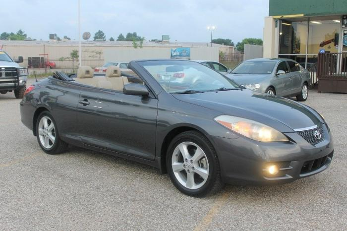 2008 toyota camry solara sle convertible 83k miles only fully loaded we finance we. Black Bedroom Furniture Sets. Home Design Ideas