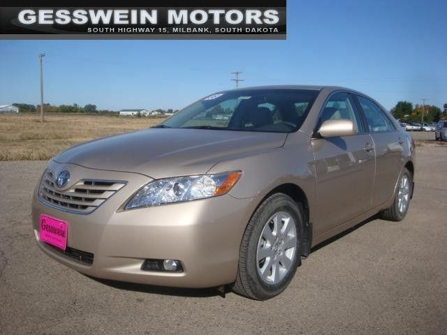 2008 toyota camry xle for sale in milbank south dakota classified. Black Bedroom Furniture Sets. Home Design Ideas