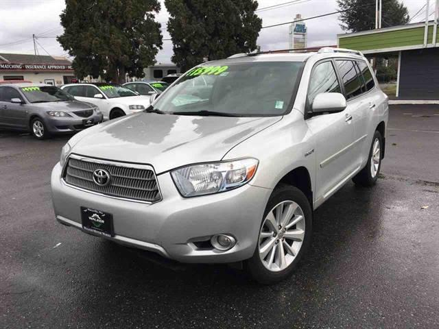 2008 toyota highlander hybrid limited awd limited 4dr suv for sale in marysville washington. Black Bedroom Furniture Sets. Home Design Ideas