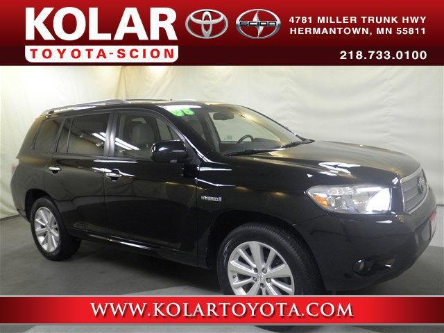 2008 Toyota Highlander Hybrid Limited AWD Limited 4dr SUV for Sale in Duluth, Minnesota ...