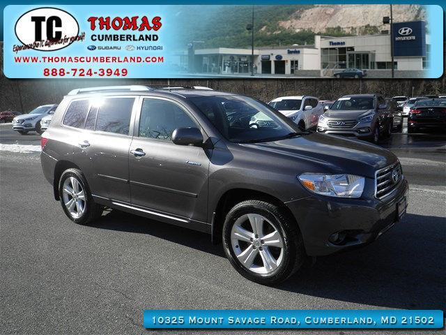 2008 toyota highlander limited awd limited 4dr suv for sale in cumberland maryland classified. Black Bedroom Furniture Sets. Home Design Ideas