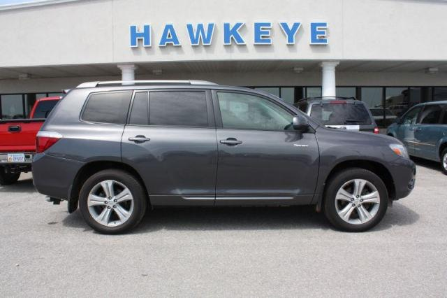 2008 toyota highlander sport for sale in red oak iowa classified. Black Bedroom Furniture Sets. Home Design Ideas