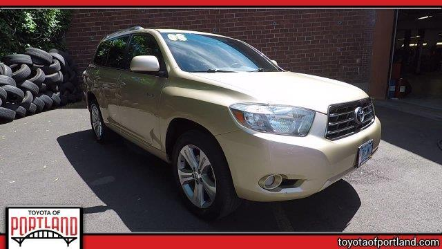 2008 toyota highlander sport awd sport 4dr suv for sale in portland oregon classified. Black Bedroom Furniture Sets. Home Design Ideas