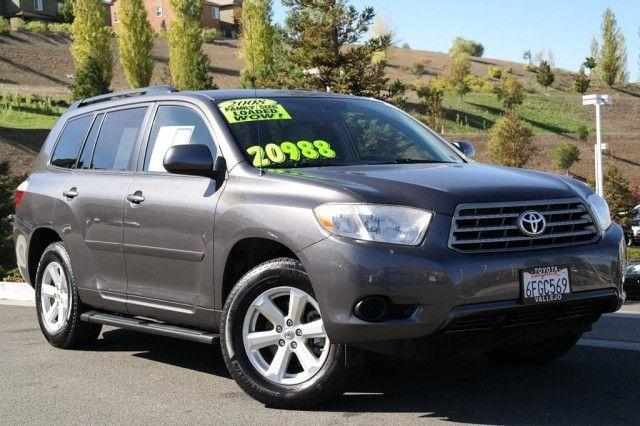 2008 toyota highlander sport vallejo ca for sale in vallejo california classified. Black Bedroom Furniture Sets. Home Design Ideas