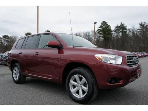 2008 toyota highlander suv 4x4 for sale in raynham massachusetts classified. Black Bedroom Furniture Sets. Home Design Ideas