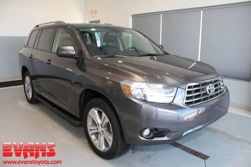 2008 toyota highlander suv awd sport 4dr suv for sale in fort wayne indiana classified. Black Bedroom Furniture Sets. Home Design Ideas