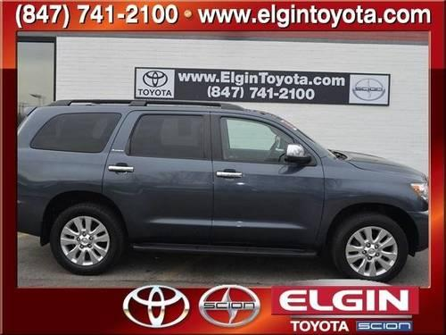 2008 toyota sequoia 4 door platinum platinum for sale in elgin illinois classified. Black Bedroom Furniture Sets. Home Design Ideas