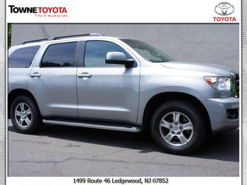 2008 toyota sequoia suv 4x4 sr5 for sale in ledgewood new jersey classified. Black Bedroom Furniture Sets. Home Design Ideas
