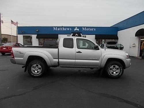 2008 toyota tacoma extended cab pickup trd 4wd extended for Matthews motors goldsboro nc