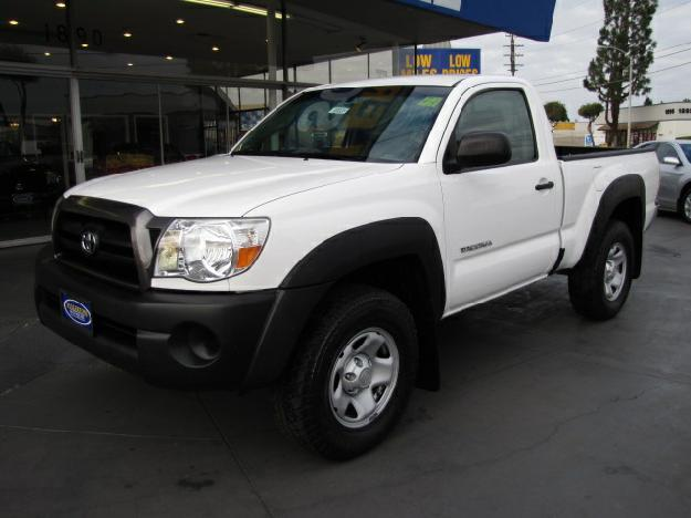 2008 toyota tacoma regular cab 4x4 pickup for sale in fullerton california classified. Black Bedroom Furniture Sets. Home Design Ideas