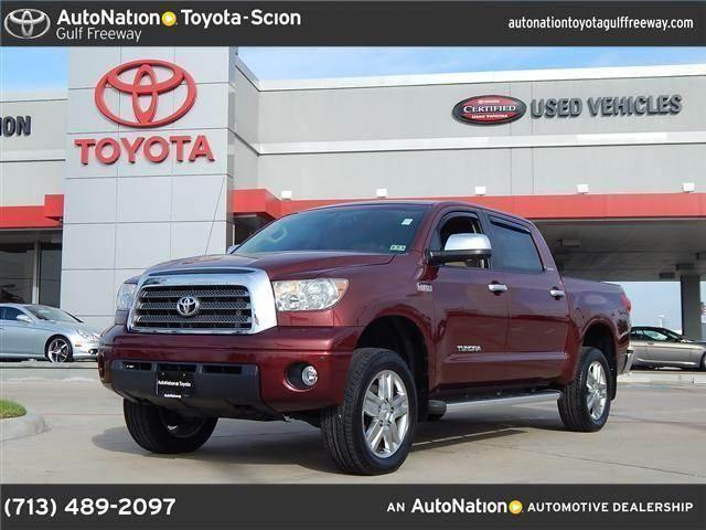 2008 toyota tundra 4wd truck for sale in houston texas. Black Bedroom Furniture Sets. Home Design Ideas