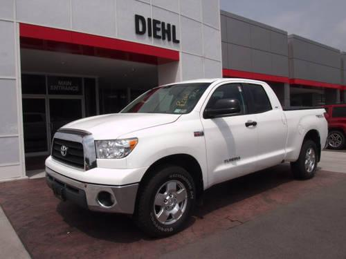 2008 toyota tundra double cab 4x4 sr5 for sale in butler pennsylvania classified. Black Bedroom Furniture Sets. Home Design Ideas