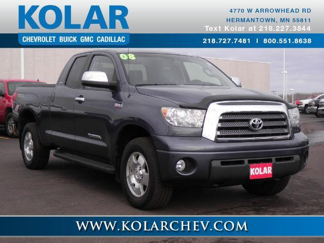 2008 toyota tundra limited 4x4 limited 4dr double cab 5 7l v8 for sale in duluth minnesota. Black Bedroom Furniture Sets. Home Design Ideas