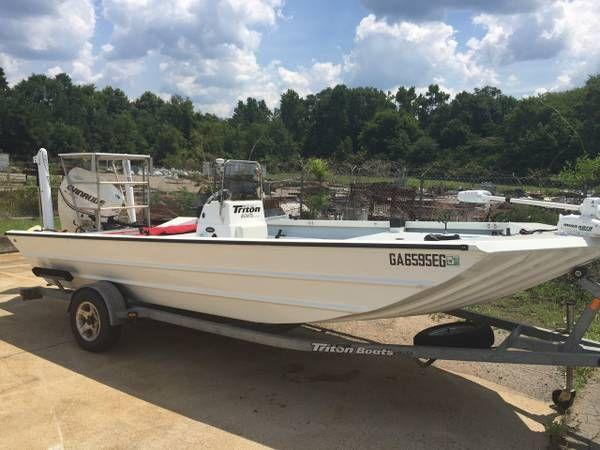 2008 Triton 1870 Bay Sport for Sale in Perry, Georgia Classified | AmericanListed.com