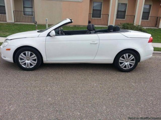 2008 vw eos hard top convertible for sale in mcallen texas classified. Black Bedroom Furniture Sets. Home Design Ideas