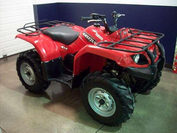 2008 Yamaha Grizzly 350 IRS Auto. 4x4 for Sale in Cleveland ...