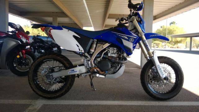 2008 Yamaha Wr450 Supermoto Street Legal For Sale In El