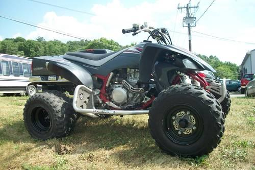 2008 Yamaha YFZ 450 Great Shape Adult Owned RED GRAY