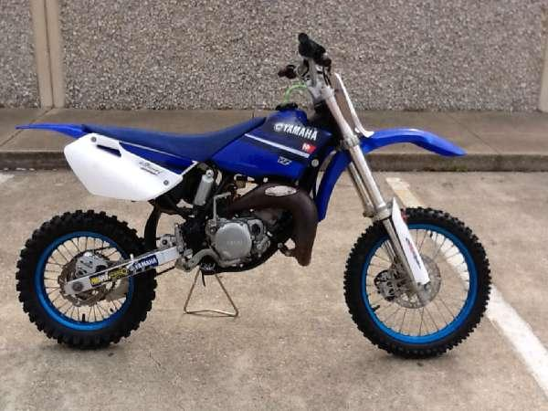 2008 yamaha yz85 for sale in dallas texas classified. Black Bedroom Furniture Sets. Home Design Ideas