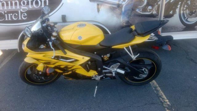 2008 yamaha yzf r6 yellow for sale in flemington new jersey classified. Black Bedroom Furniture Sets. Home Design Ideas