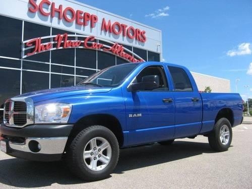 2008 dodge ram 1500 crew cab pickup for sale in madison for Schoepp motors middleton wi