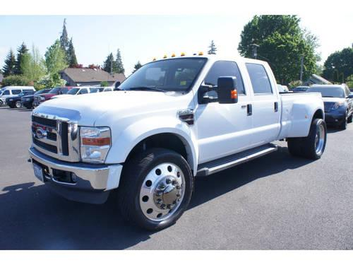 2008 ford f 450 super duty crew cab 4x4 lariat for sale in. Black Bedroom Furniture Sets. Home Design Ideas