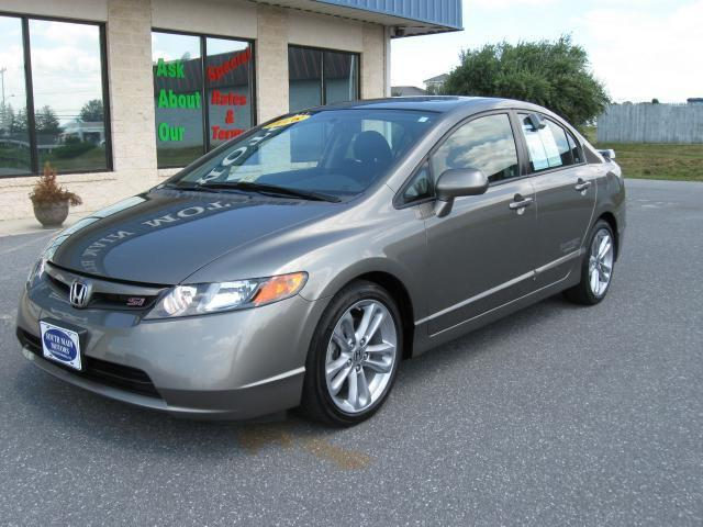2008 honda civic si for sale in harrisonburg virginia. Black Bedroom Furniture Sets. Home Design Ideas
